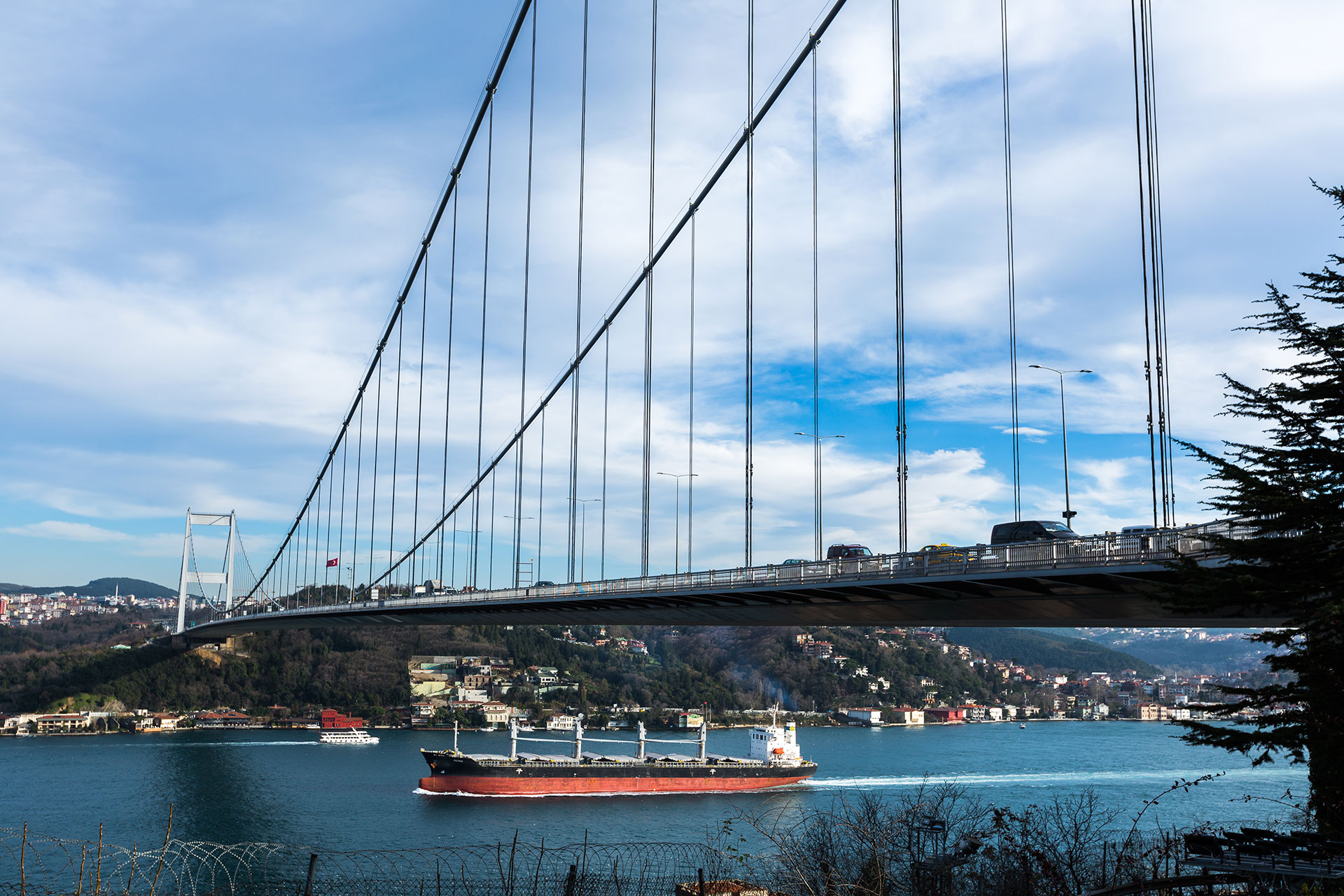 Teceo reduces energy costs by 52% while enhancing Fatih Sultan Mehmet Bridge