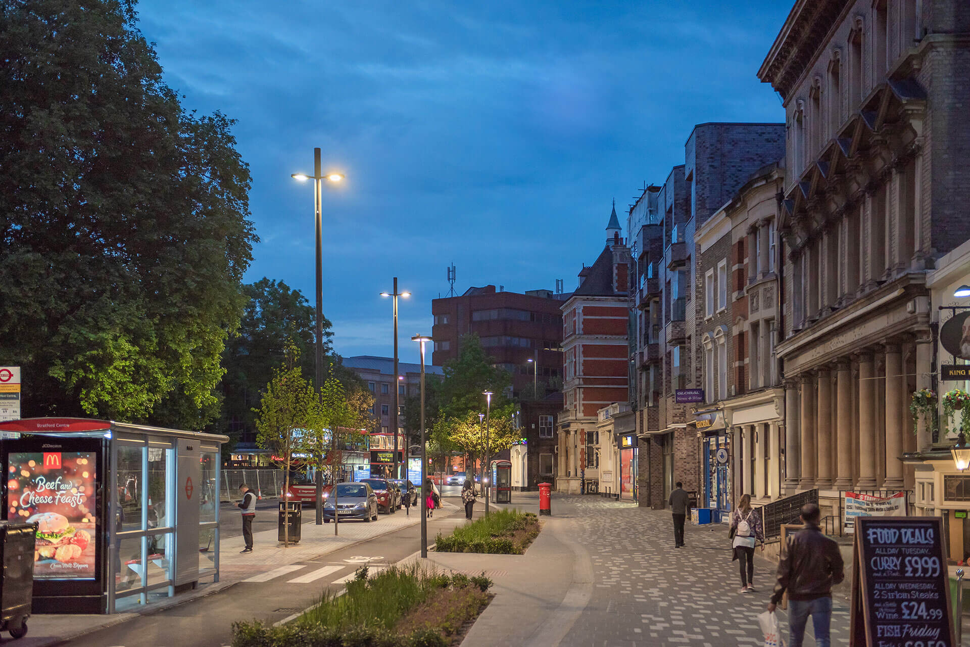 Yoa delivers energy-efficient lighting solution to create safer and more attractive public spaces in Stratford