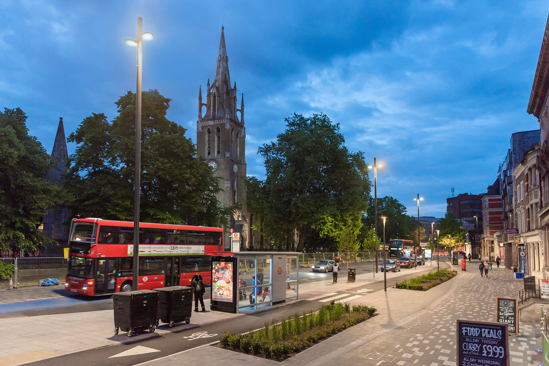 Yoa street light deliver energy-efficient upgrade for Stratford