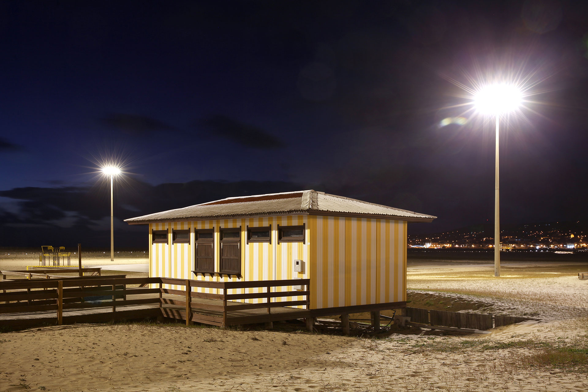 Avento + Owlet IoT control system provide smart lighting solution to ensure safety while protecting Figueira da Foz beach
