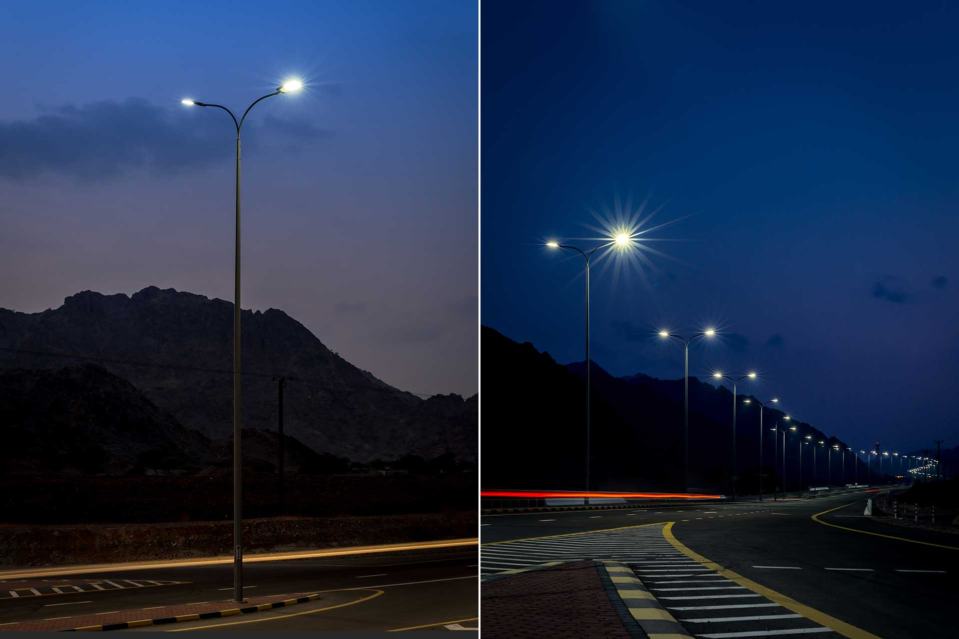Teceo transformed lighting from a necessary expense into a strategic asset for Fakkan Ring Road
