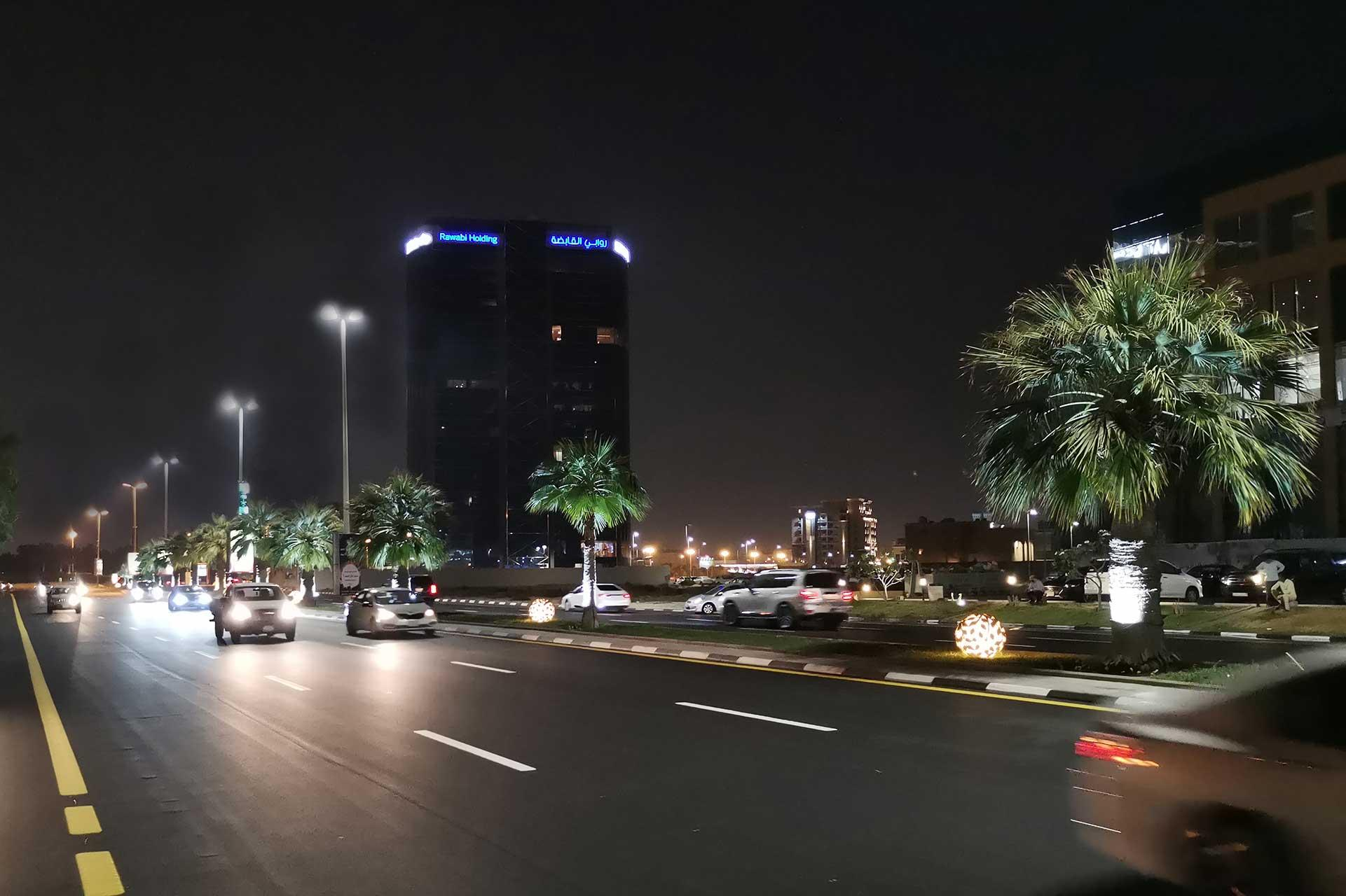 Avento lights the streets of Damman in Saudi Arabia ensuring a safe and sustainable environment