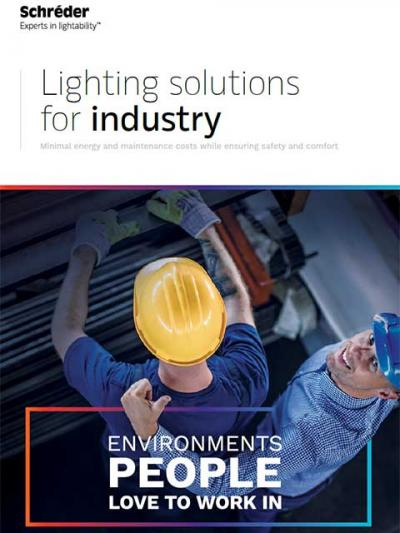 Schréder industry lighting solutions create environments people love to work in